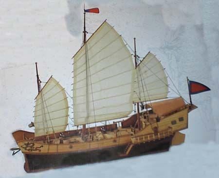 skib men bøgler